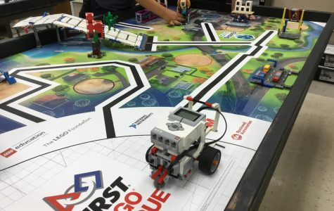 Robotics Club allows students to build and program robots  to prepare for regional competitions.  Meets Tue. & Wed.  Library Lab 1  Sponsor: Mr. Baker