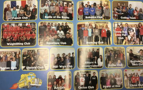 Nipher's yearbook highlights the school clubs every year.