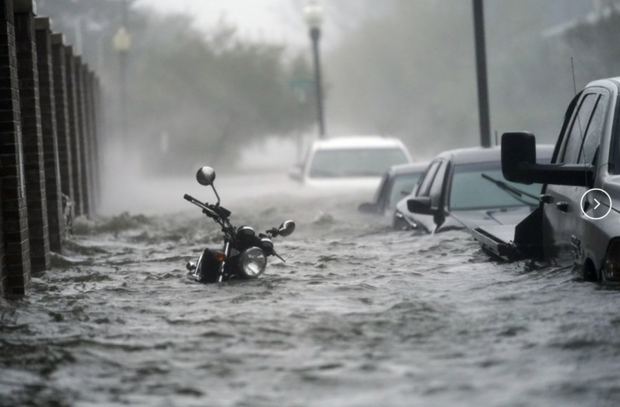 Historic flooding occurred in Pensacola, Florida after Hurricane Sally made landfall in mid-September. (Image Source: apnews.com)